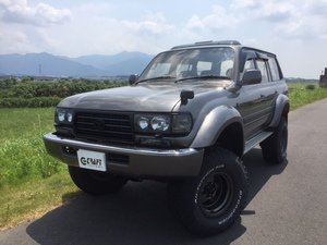 TOYOTA LANDCRUISER 80 VX-LTD